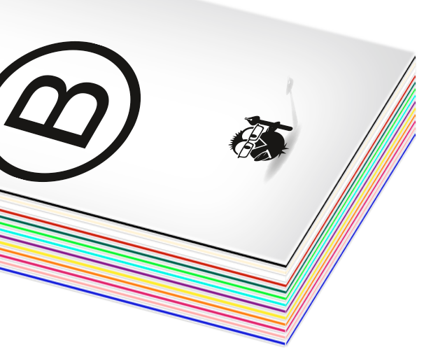 Bestelloptionen Multiloft Visitenkarten Quadrat 55 X 55 Mm